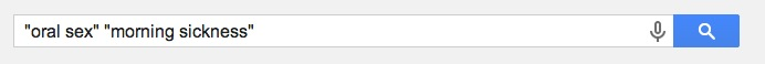 Not the weirdest set of search terms I've ever used.  But close.