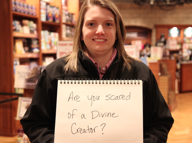 Are you scared of a Divine Creator?